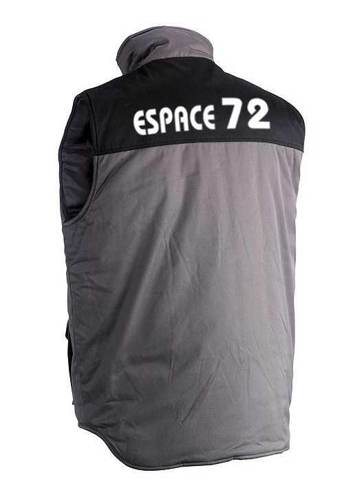 Flocage gilet Espace 72